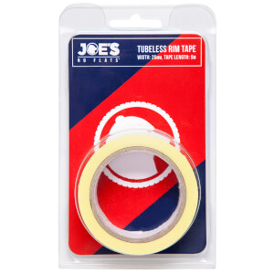 Joe's No Flats Tubeless Yellow Rim Tape - 9m x 25mm