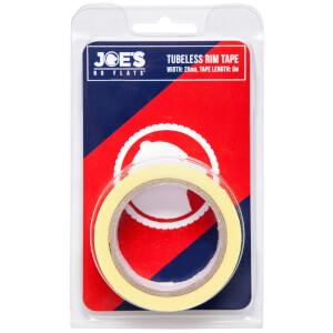 Joe's No Flats Tubeless Yellow Rim Tape - 60m x 21mm