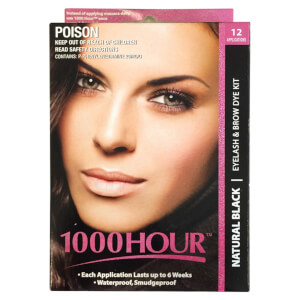 1000 Hour Eyelash & Brow Dye Kit - Natural Black
