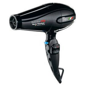BaByliss PRO Portofino Nano Titanium Hair Dryer - Black