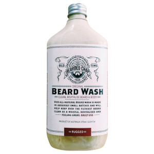 Bearded Chap Original Beard Wash Rugged 375ml