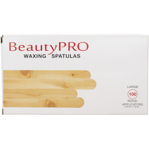 BeautyPro Waxing Spatulas Large