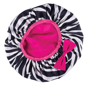 Cricket Static Free / Water Resistant Beauty Cap - Zzzebra