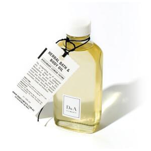 DnA Elements Organic Herbal Bath And Body Oil 100ml