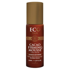 Eco Tan Cacao Firming Mousse 1 Hour Self Tan - Deep Bronze 125ml