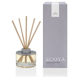 ECOYA Coconut & Elderflower Mini Reed Diffuser 50ml