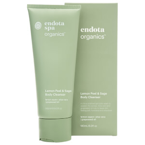 Endota Spa Lemon Peel & Sage Body Cleanser 180ml