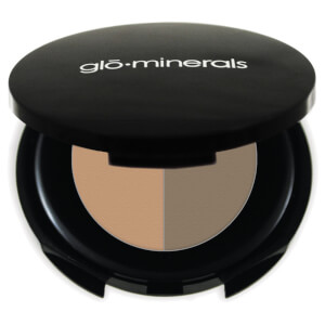 glo minerals Brow Powder Duo Taupe 1.1g