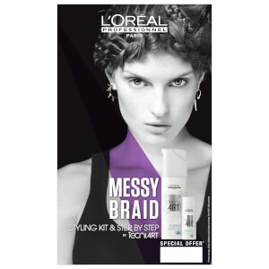 L'Oréal Professionnel Tecni Art Messy Braid Styling Duo Kit
