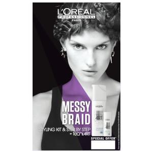 L'Oréal Professionnel Tecni Art Messy Braid Styling Duo Kit