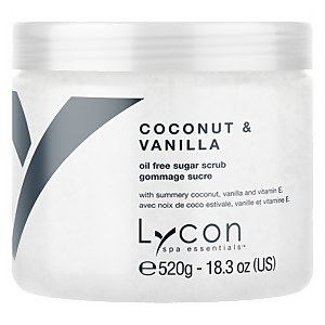Lycon Oil Free Sugar Scrub - Coconut And Vanilla 520g