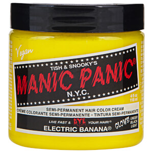 Manic Panic Semi-Permanent Hair Color Cream - Electric Banana 118ml