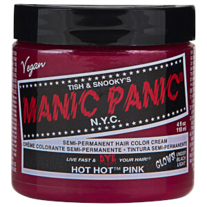 Manic Panic Semi-Permanent Hair Color Cream - Hot Hot Pink 118ml