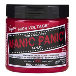 Manic Panic Semi-Permanent Hair Color Cream - Red Passion 118ml