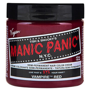 Manic Panic Semi-Permanent Hair Color Cream - Vampire Red 118ml