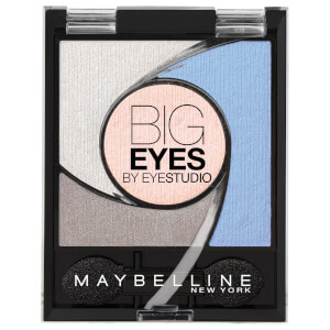 Maybelline Eyestudio Big Eyes Light Catching Eye Shadow Palette #04 Luminous Blue 5.37g