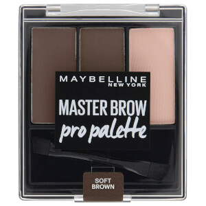 Maybelline Master Brow Pro Palette - Soft Brown 3.4g
