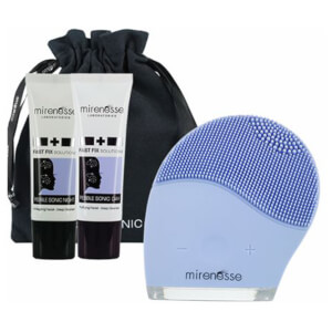 mirenesse Pebblesonic Skin Clearing Facial Beauty Device Kit: Image 1