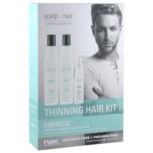 Nak Scalp To Hair Energise Thinning Hair Kit