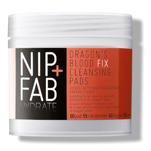 NIP + FAB Dragons Blood Fix Cleansing Pads - 60 Pads