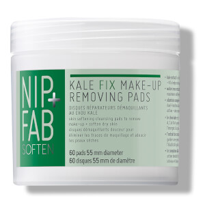 NIP+FAB Kale Fix Make Up Removing Pads - 60 Pads