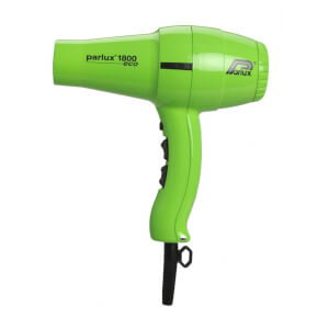 Parlux 1800 Eco Friendly Dryer 1280W - Green