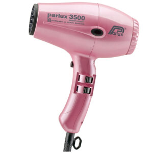 Parlux 3500 Super Compact Ceramic & Ionic Hair Dryer 2000W - Pink