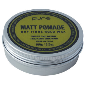 Pure Matt Pomade Dry Fibre Hold Wax 100g