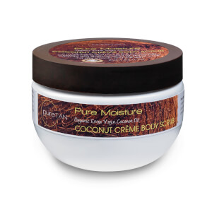PureTan Pure Moisture Coconut Creme Body Scrub 250ml