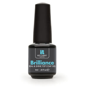 Red Carpet Manicure Brilliance Seal and Shine Top Coat Gel 9ml