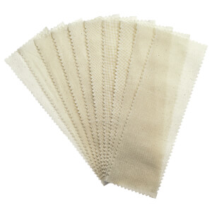 Satin Smooth Natural Muslin Epilating Strips Large