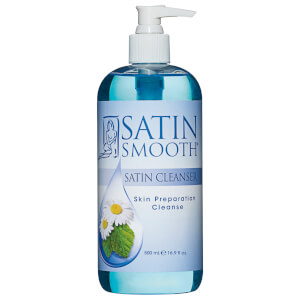 Satin Smooth Satin Cleanser Skin Preparation Cleanser 473ml