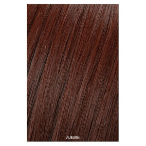 Showpony Professional Clip In Hair Extensions Heat Resistant Synthetic Style 406 - Auburn 18 Inches