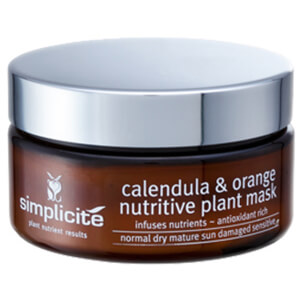Simplicite Calendula & Orange Nutritive Plant Mask 100g