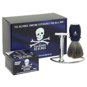 The Bluebeards Revenge Privateer Collection Double Edge Razor Gift Set
