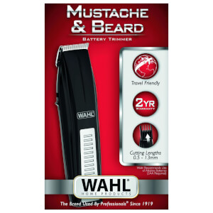Wahl Mustache & Beard Battery Trimmer