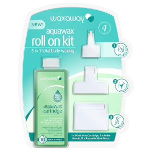 Waxaway Aquawax Roll On Kit