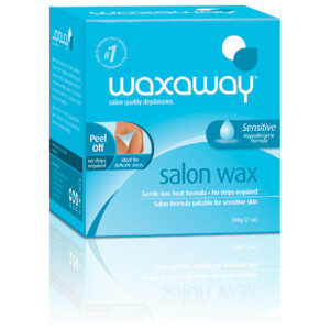 Waxaway Salon Wax Sensitive Hypoallergenic Formula 200g