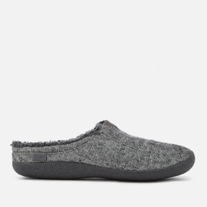 TOMS Men's Berkeley Slub Textile Slippers - Grey