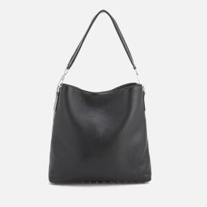 Alexander Wang Women's Dumbo Rogue Rivet Soft Hobo Bag - Black