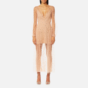 For Love & Lemons Women's All That Glitters Maxi Dress - Almond