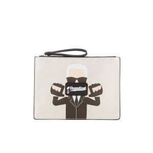 Karl Lagerfeld The Photographer Team Karl Pouch - Silver