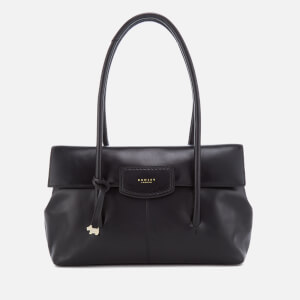 Radley Women's Burnham Beeches Large Fold Over Shoulder Bag - Black