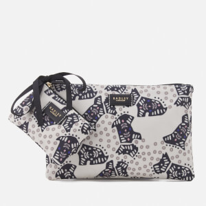 Radley Women's Folk Dog Travel Set - Chalk