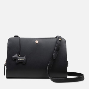 Radley Women's Liverpool Street Disc Medium Ziptop Cross Body Bag - Black