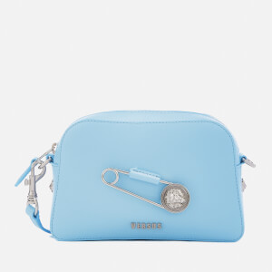 Versus Versace Women's Safety Pin Small Cross Body Bag - Light Blue