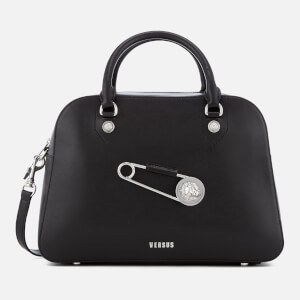 Versus Versace Women's Safety Pin Large Bag - Black