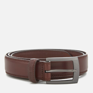 Ceinture Cuir Homme Holloway Ben Sherman - Marron