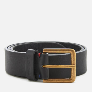 Ben Sherman Men's Leather Hatton Belt - Black
