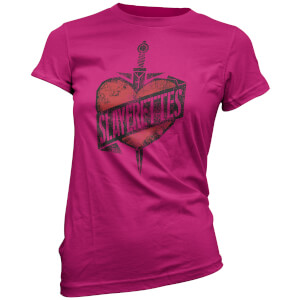 Buffy The Vampire Slayer Women's Slayer Heart and Dagger T-Shirt